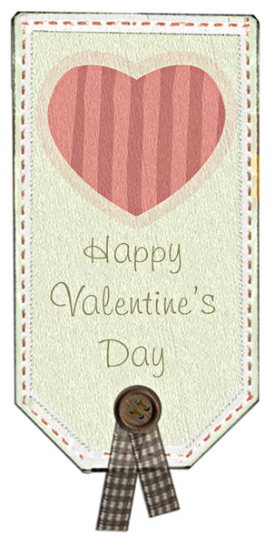 Love tag 1: Happy Valentine's tag