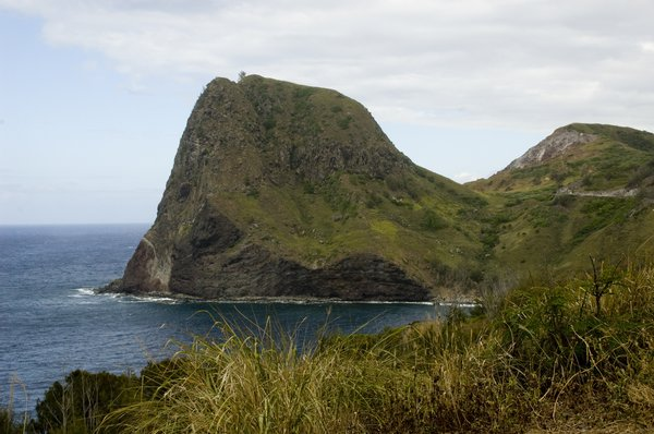 Hawaiian Mountain.: A mountain I and my wife went to go see while on our honeymoon.