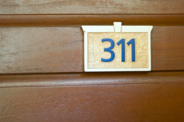 311: My door at the resort.
