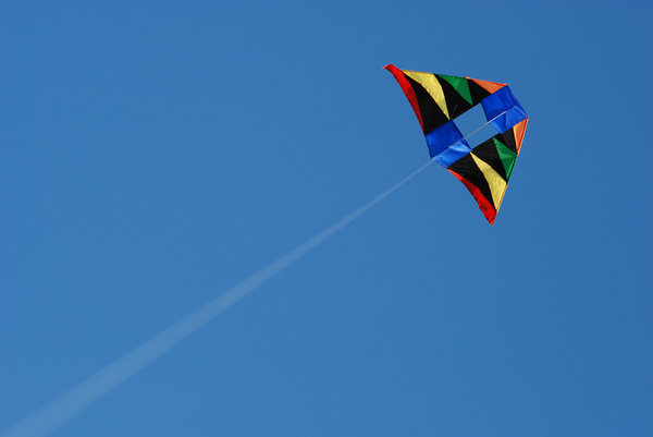 Kite Sky 4: Kite in the sky.