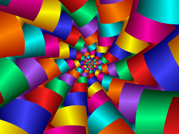 Colour Spiral: Colour Spiral created using UltraFractal 4.My other fractals:http://www.sxc.hu/browse. ..