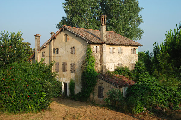 Old house: Old house, Lignano, Italy.