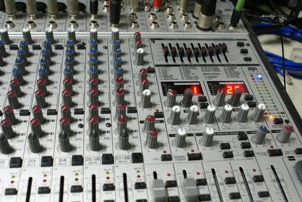 Sound mixer 2: 24-channel sound mixer table