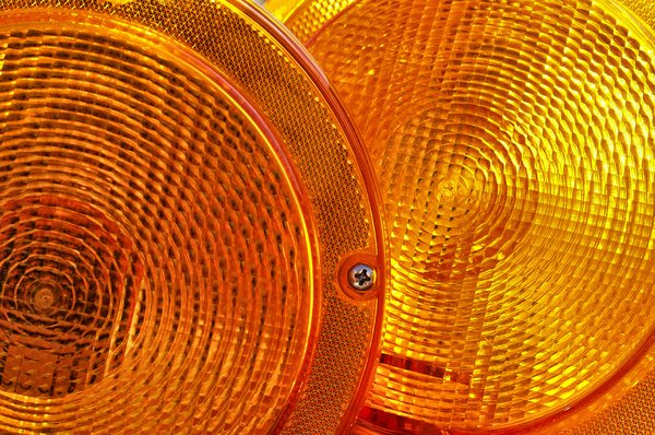Safety Lights: Safety lights used for traffic control.