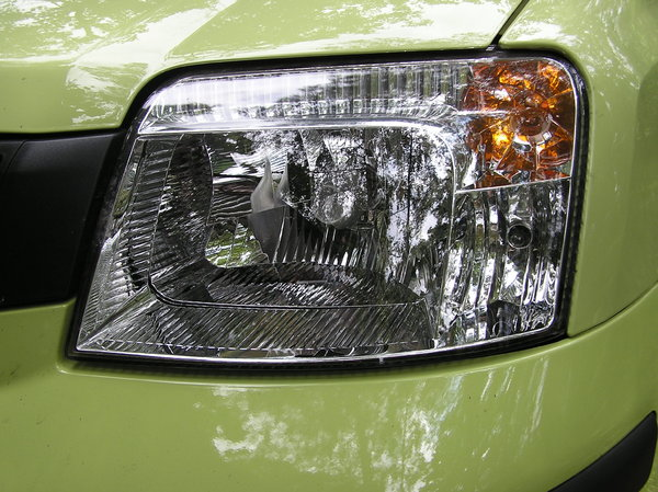 Car lamp: Just a reflector. Please let me know if you decide to use it!