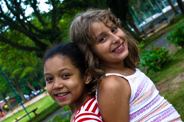 Friendship: My daughter and her friend
