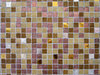 golden mosaic texture