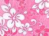 Hibiscus fabric pink
