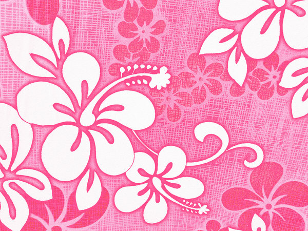 Hibiscus fabric pink: this is the photo that has been so popular in original form, but now in pink, I have reduced the file size after converting the colour.I still can't believe that this is the fabric on my mother's car seat covers!