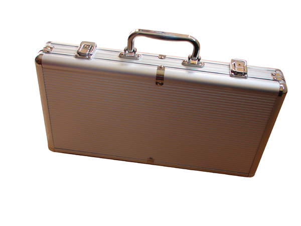 Suitcase: A very nice metal suitcase