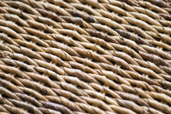 Natural background: raffia