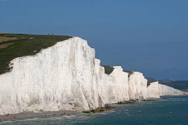 Seven Sisters: The Seven Sisters, a series of chalk cliffs on the south coast of England.