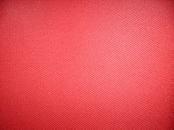 Red Fabric: Red fabric from my office chair!