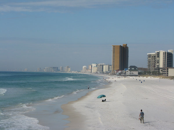 Winter Beach: Panama City Beach