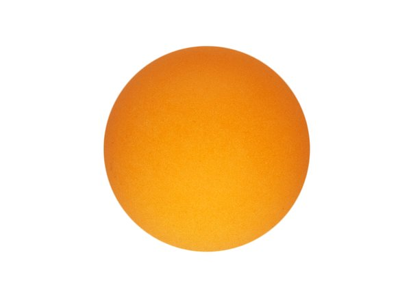 Orange Orb: This is a macro photograph of an orange ping pong ball lit to look like the sun. The surface texture of the ball can be seen when enlarged on screen and it looks a lot like the surface of the sun.