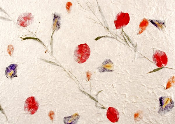 Free stock photos rgbstock free stock images handmade paper handmade paper with flowers mightylinksfo
