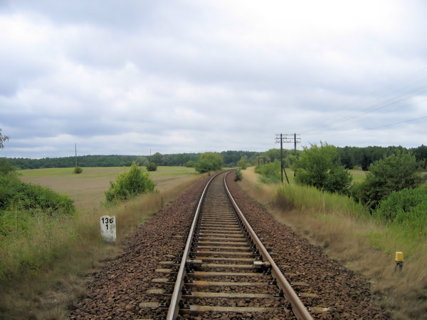 railroad track: railroad track