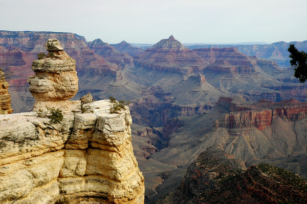 Grand Canyon Scenic 5: grand canyon, rock, geology, stone, landscape