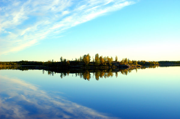 Yellowknife landscape 5: Here are some morning 6am morning shots in August