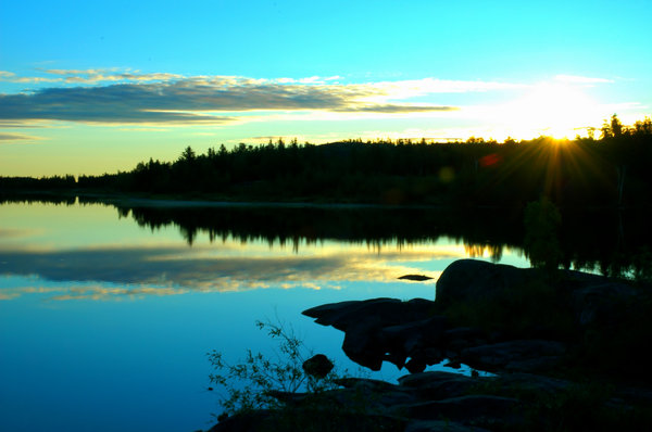 Yellowknife Landscapes 5: Here are some morning 6am morning shots in August