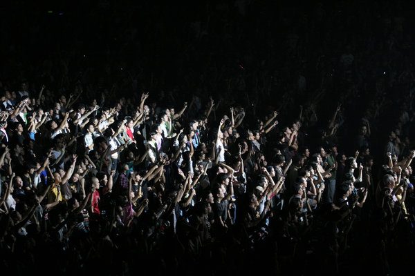 crowd: Pacific Rim Tour (Incubus Live in Araneta)