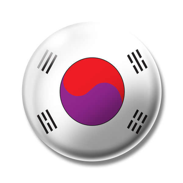 korea: flag of korea