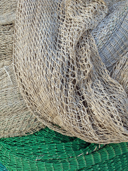 Fishing net: Photo taken while a wolk in a fishing port