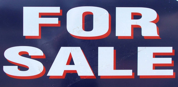 for sale: for sale sign