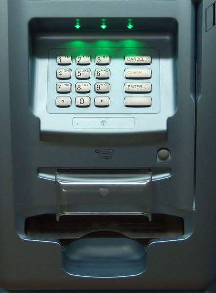 cashbox - ATM1: indoor Automatic Teller Machine