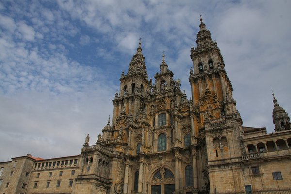 Cathedral 1: Santiago de Compostela: The most important cathedral from Spain!