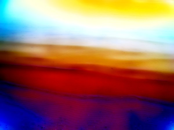 Abstract Colours - Shoreline 3: A sandy shore with colours enhanced.