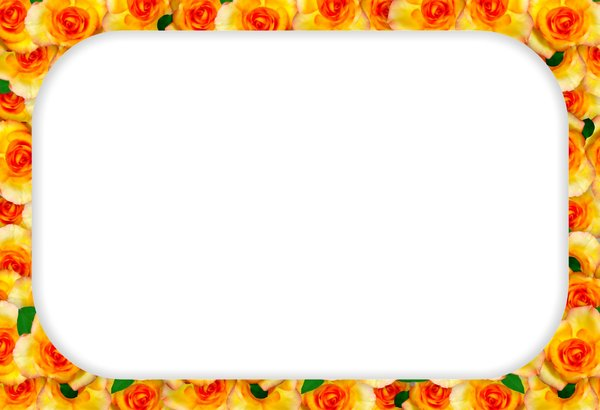Color Pages Flower Borders and Frames