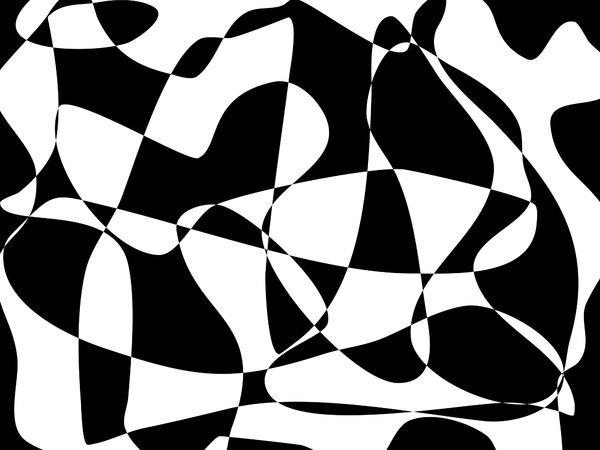 Black and White Pattern,: Black and white abstract reminiscent of retro patterns. You can add your own contrasting colour/s to the mix if you wish.