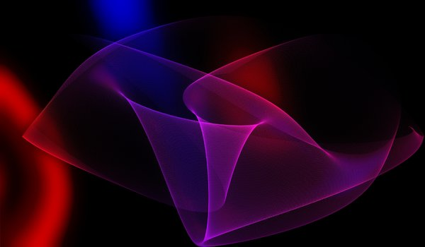 Gossamer Lines: Fine gossamer lines in an elegant and colourful background.