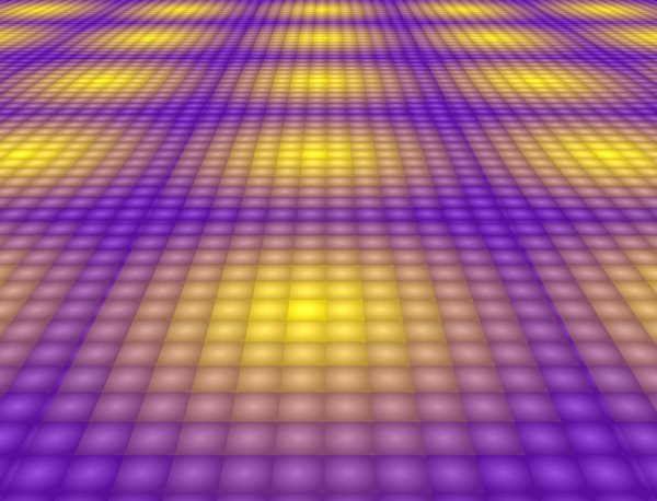 Dance Floor 1: A disco dance floor.