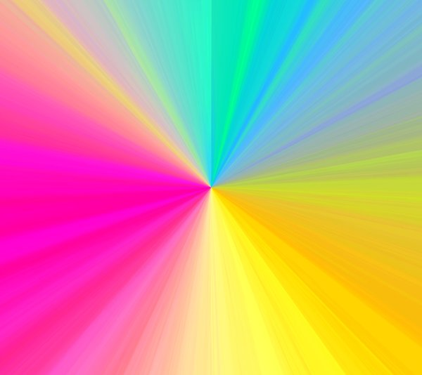 Rainbow Burst: A rainbow coloured burst background, texture, fill, etc. You may prefer:  http://www.rgbstock.com/photo/meK8YHi/Flare+10  or:  http://www.rgbstock.com/photo/mNDfMHc/Flare+X3