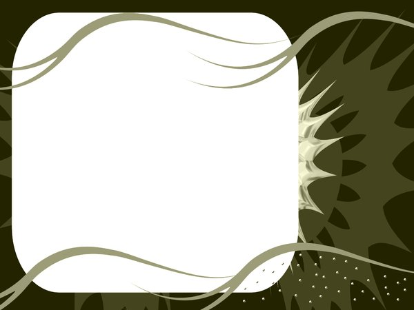 Wavy Banner 2 : Simple abstract banner with swirls and other shapes.