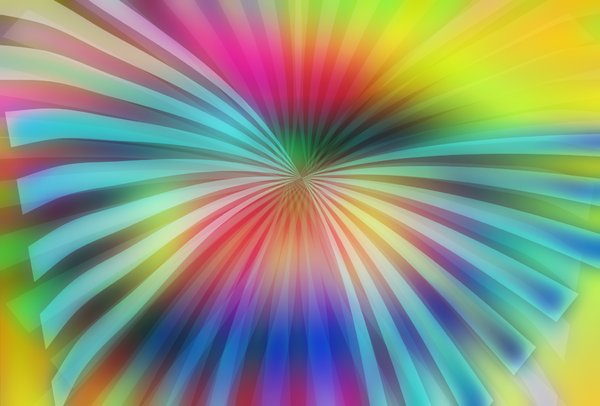 Wyld 3: Wing-shaped sunburst background design. None of my images may be redistributed from other sites.