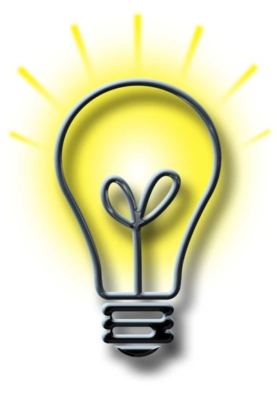 Lightbulb: Lightbulb illustration