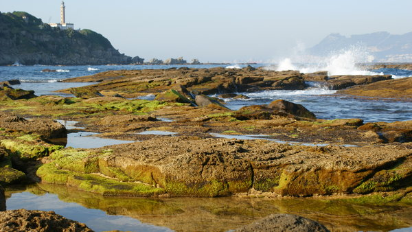 Rocks & waves: Rocky landscape