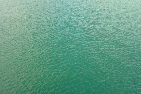 Sea surface 1: How the sea changes his colour.