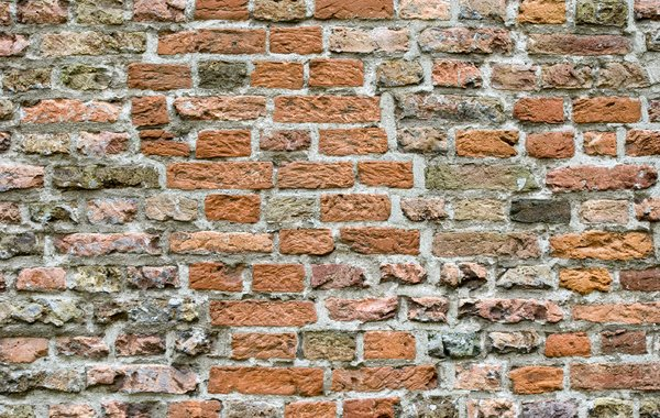 Brick wall: old brick wall texture