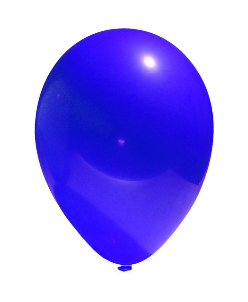 RGB balloon 3: A simple image of a balloon isolated from the background. In three different hues: red, green and blue.