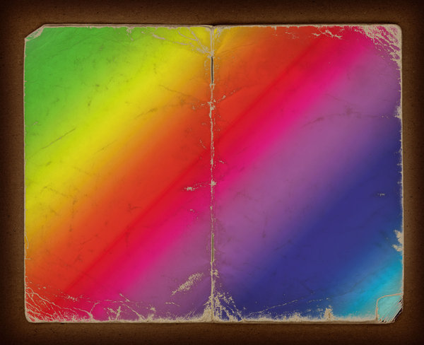 Grunge Cover: Vintage Book Cover in a Rainbow of Colors.Please visit my stockxpert gallery:http://www.stockxpert.com ..