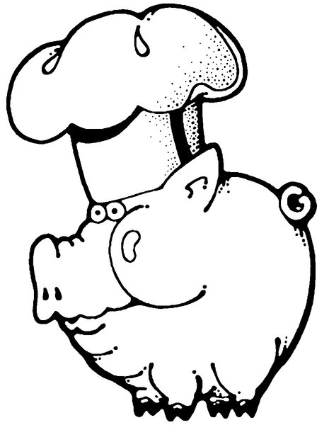 PIG: Hand drawn PIG, great if you're having a Bar-B-Que.Please visit my stockxpert gallery:http://www.stockxpert.com ..