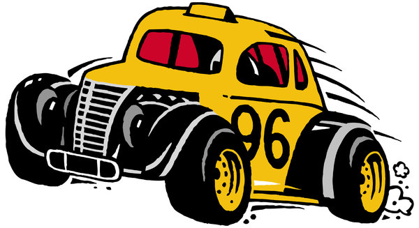 Ninety-Six: Cartoon Race CarPlease visit my stockxpert gallery:http://www.stockxpert.com ..
