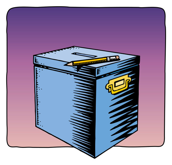 Box Art: Hand drawn illustration of a box, colorized on the computer.Please visit my stockxpert gallery:http://www.stockxpert.com ..
