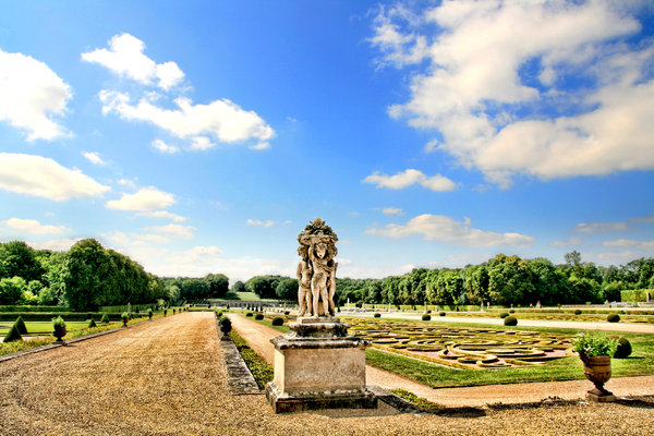 Vaux Le Vicomte - garden: No description