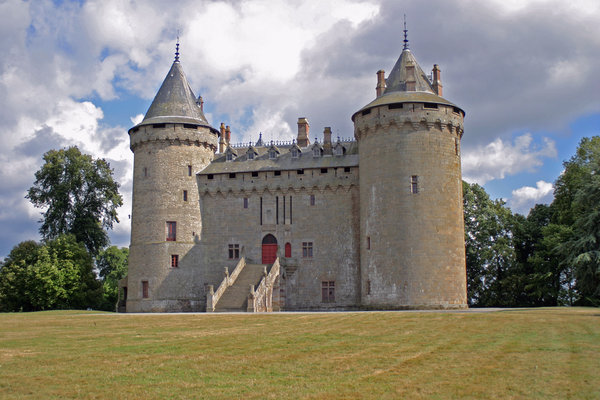 ancient castle 4: ancient castle in France