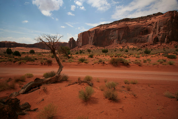 Moon's valley 3: Landscape of monument valley